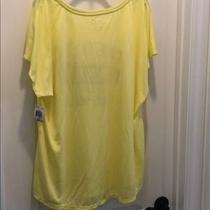 Style & Co Intimates & Sleepwear - Style & Sport yellow tee shirt nighty brand new